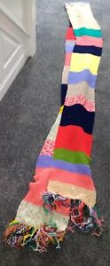"""Doctor Who Style Scarf Hand knitted Cosy & Warm ideal Winter approx 20 ft x 10"""""""