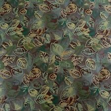 FLORAL TAPESTRY GREEN BLUE GOLD TAN UPHOLSTERY FABRIC $8.50/YD BY THE YD 193FS