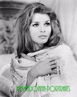 "SENTA BERGER 8x10 Lab Photo 1969 ""DE SADE"" Elegant  Movie Star Youthful Portrait"