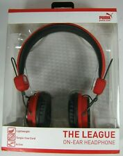 Puma The League on-ear Headphone Red Sport