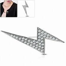 Brooch Head Gasket and Spring Clear Brooch in Alloy Alloy Fashion with