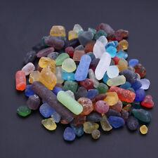 500g Natural Glass Pebbles Stone Gravel For Fish Tank Flowerpot Aquarium Decor