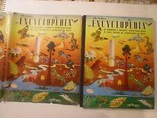 The Golden Encyclopedia, Giant Deluxe Golden Book, De Witt art, DJ, 1st Printing