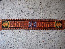 d1 sciarpa DUNDEE UNITED FC football club calcio scarf bufanda scozia scotland