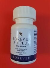FOREVER B12 Plus/with folic acid/ Support women to conceive/SEALED / 60 Tablets