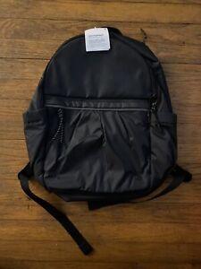 NWT LULULEMON PACK IT UP BACKPACK BLACK BOOK BAG $128