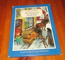 The Runaway Sleigh Ride - Astrid Lindgren - 1st American Edition good