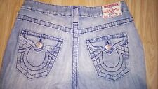 "True Religion Jeans-Super Acampanado Joey Luz Verano-peso 29"" 30"" W 34"" L"