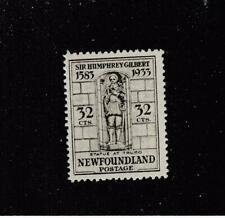 NEWFOUNDLAND  # 225  VF-MNH 32cts GILBERT STATUE CAT VALUE $72