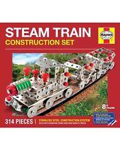 Haynes Stainless Steel Steam Train Building Construction Set, Kit, Lego, Meccano