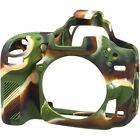 easyCover Protective Silicon Skin - Camera Cover for Nikon D750 Camera (Camo)