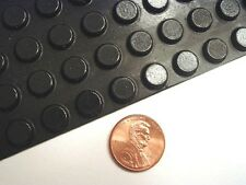 Self-Adhesive Rubber Feet Round Black Small Bumpers (60