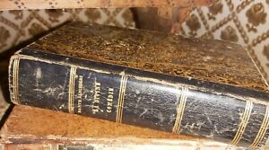 Dante Alighieri La Divine Comedie Troisieme Ed Paris 1846 Leather bound good con