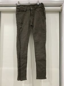 SEED Girls Olive Denim Jeans Size 10