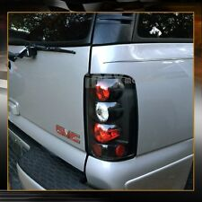 NEW For 2000-2006 Chevy Suburban Tahoe GMC Yukon Denali Black Tail Lights Lamps