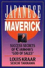 "Japanese Maverick: Success Secrets of Canon's ``God of Sales""-ExLibrary"