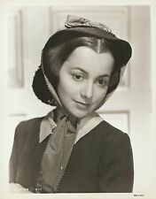 "OLIVIA DE HAVILLAND in ""Gone with the Wind"" Original Vintage Photo PORTRAIT 1939"