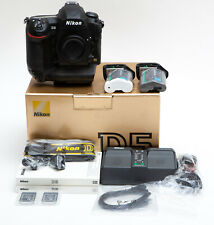 Nikon D5 20.0MP Digital SLR Camera with Dual XQD Slots Body Only - LOW Use * USA