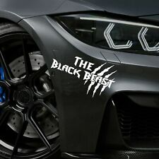 The Black Beast Auto Aufkleber Motorspor Tuning Sticker JDM Limited Edition Lin