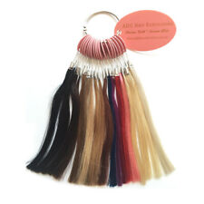 Indian Remy Human Hair Extension Colour Sample Ring