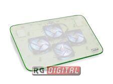 """Supporto Per Notebook Fino a 15.6"""" Vultech SN-04V Verde Con 4 Ventole  Porte Usb"""