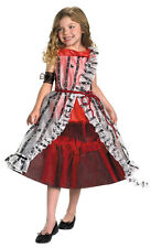 Child Size 7-8 Red Court Dress Alice Costume - Alice In Wonderland Costumes