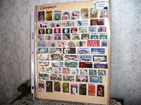 CANADIAN CANADA STAMPS  PRE 1972  LOT/ 72
