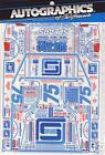 AutoGraphics #215-24 Spears Mfg #75 slot car decal
