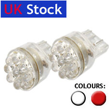2x 15 LED 3157/7443 T20 W21/5W Stop/Tail bulbs RED