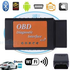 ELM327 V1.5 Wi-Fi OBD2 OBDII WiFi For iPhone Car Diagnostic Interface Scanner