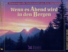 WENN ES ABEND WIRD IN DEN BERGEN - STUBENMUSIK AUS DEM ALPENLAND / 4 CD-SET