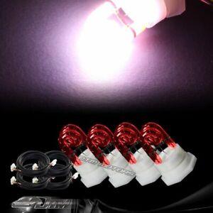 4X Replacement Bulbs For 120 / 160 Watt Hide A Way Strobe Light A - RED