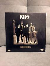 KISS - Dressed to Kill LP BRAZIL BEIGE LABEL 2st press Diff back cover Unique
