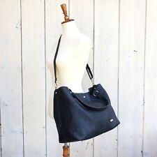 New Amphora Large Faux Leather Black Hobo Bag Womens Purse Shoulder Handbag