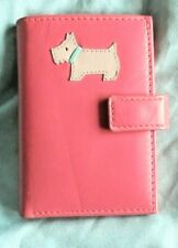 """RADLEY (London) Pink Wallet/Purse for notes/Credit card Holder 4.25"""" x 3"""" x 0.5"""""""