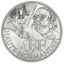 """Pièce de 10 euros des régions """"Haute Normandie"""" 2012."""