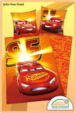 Bettwäsche Disney's Cars Lightning McQueen Auto gr. 135x200cm NEU