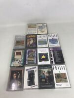 VTG 14 Christian Music Hymns Praise Cassette Tapes  Gospel Random Mixed Lot
