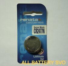 10 PZ BATTERIA RENATA, mod. CR 2477N 3V LITIO 950 mAh