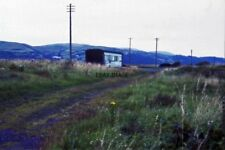 PHOTO  1985 GROUNDED COACH BODY NEAR YNYSLAS IN USE AS A SHED OR FARM BUILDING P