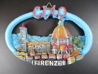 Dom Florenz Fiorente 13 cm Poly Modell Italien,Italy Reise Souvenir,Neu