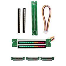 Dual 12 Stereo Level indicator LED VU Meter lamps Light Analyzer Audio Display