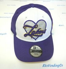 Los Angeles Lakers Girl's Youth New Era 9TWENTY Sparkle Cap Hat