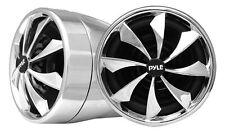 New Pyle PLMCS94 Pair 800W Motorcycle handle-bar Aluminum Die-Cast 3'' Speakers