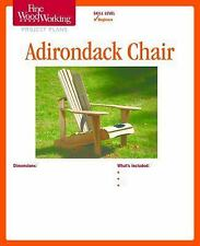 Adirondack Chair by Fine Woodworking Magazine Editors (2011, Print, Other)