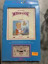 Worlds of Wonder Talking Mother Goose Cinderella Cassette And Tape