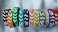 "5/8"" elastic CHEVRON  print  fold over elastic(55 y)for baby headband,elastic"
