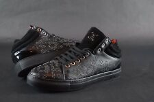 New Womens MCM Studded Leather Sneakers sz 39/9 US black shoes retail $550 red