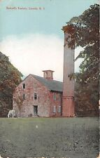 c.1910 Butterfly Factory Lincoln RI post card