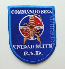 Dominican Republic Air Force (FAD) Special Forces Commando Scorpion Patch Large